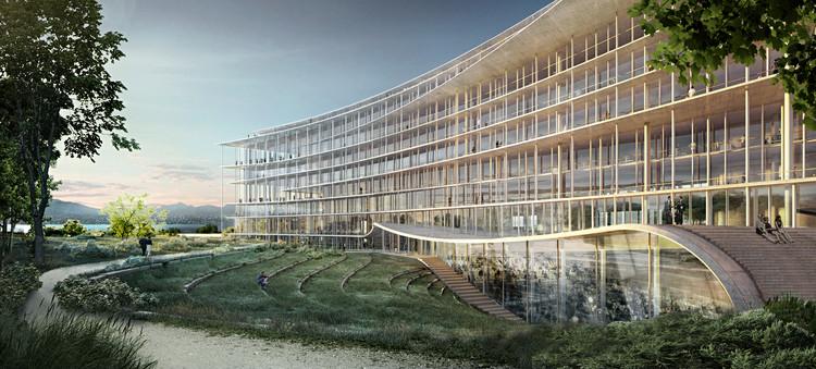Herzog & de Meuron gana concurso para las oficinas centrales del banco Lombard Odier en Suiza, Cortesía de Herzog & de Meuron