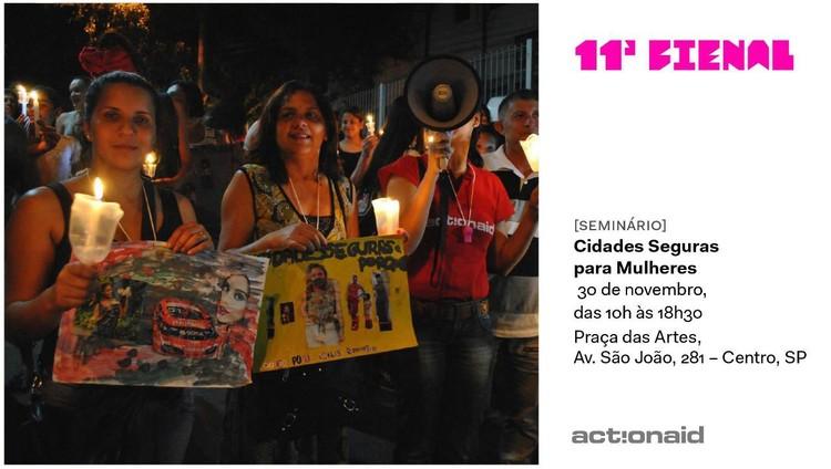 """Evento """"Cidades Seguras para as Mulheres: Experiências e Práticas"""" na Praça das Artes"""