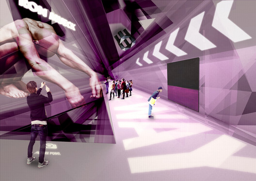 Some architects are turning to design virtual spaces, such as in this design by Mi5VR for a virtual museum. But what effect do such immersive virtual environments have on everyday life?. Image Courtesy of Mi5VR