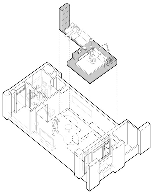 Internally Connected Room Diagram