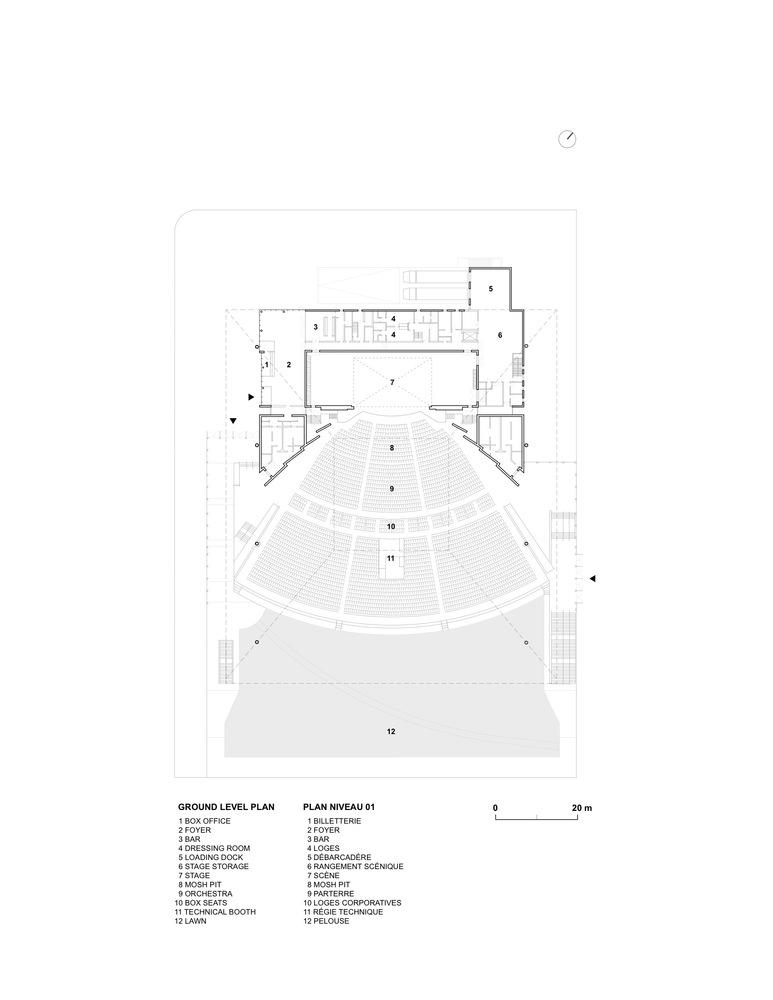 gallery of amphith tre cogeco atelier paul laurendeau 19 rh archdaily com Cogeco Burlington Cogeco Burlington