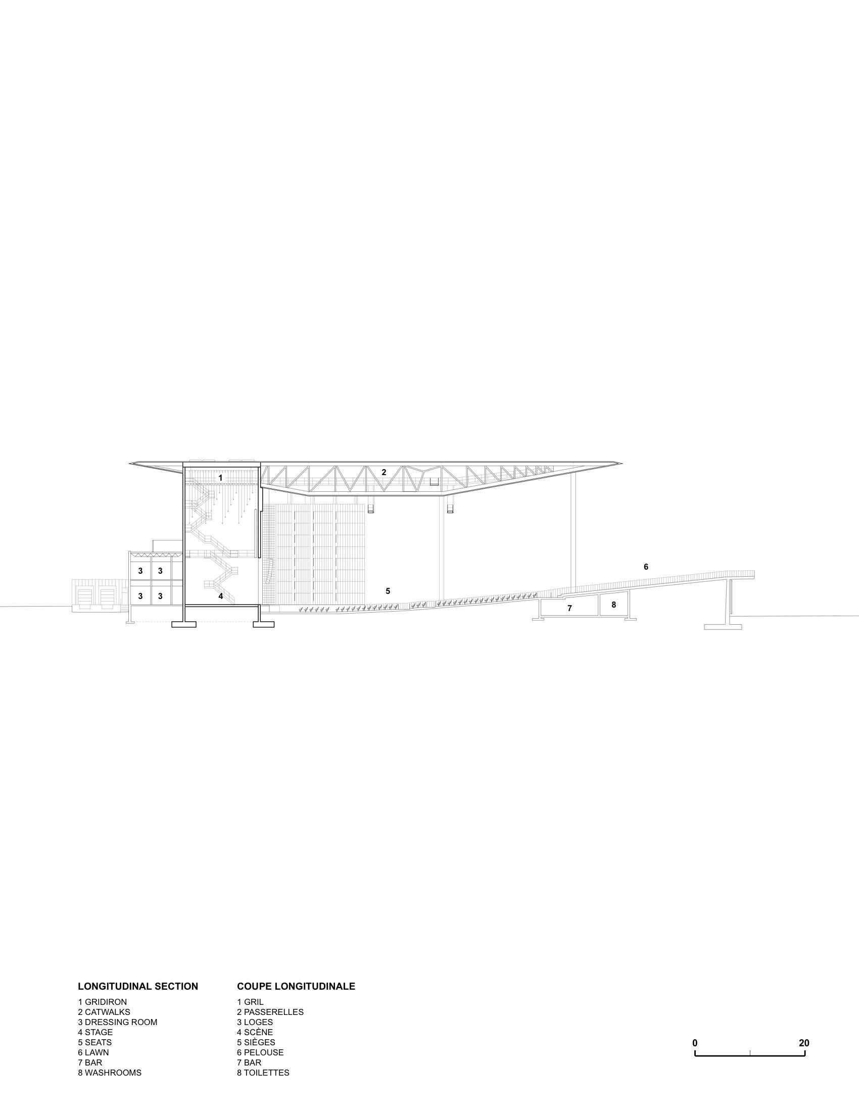 gallery of amphith tre cogeco atelier paul laurendeau 27 rh archdaily com Cogeco Ontario Cogeco Fund