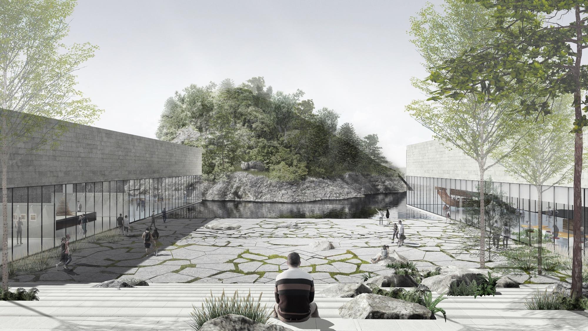 Winning Yisabu Dokdo Memorial Park Entry Excavates Site to Celebrate the Journey of Legendary ...