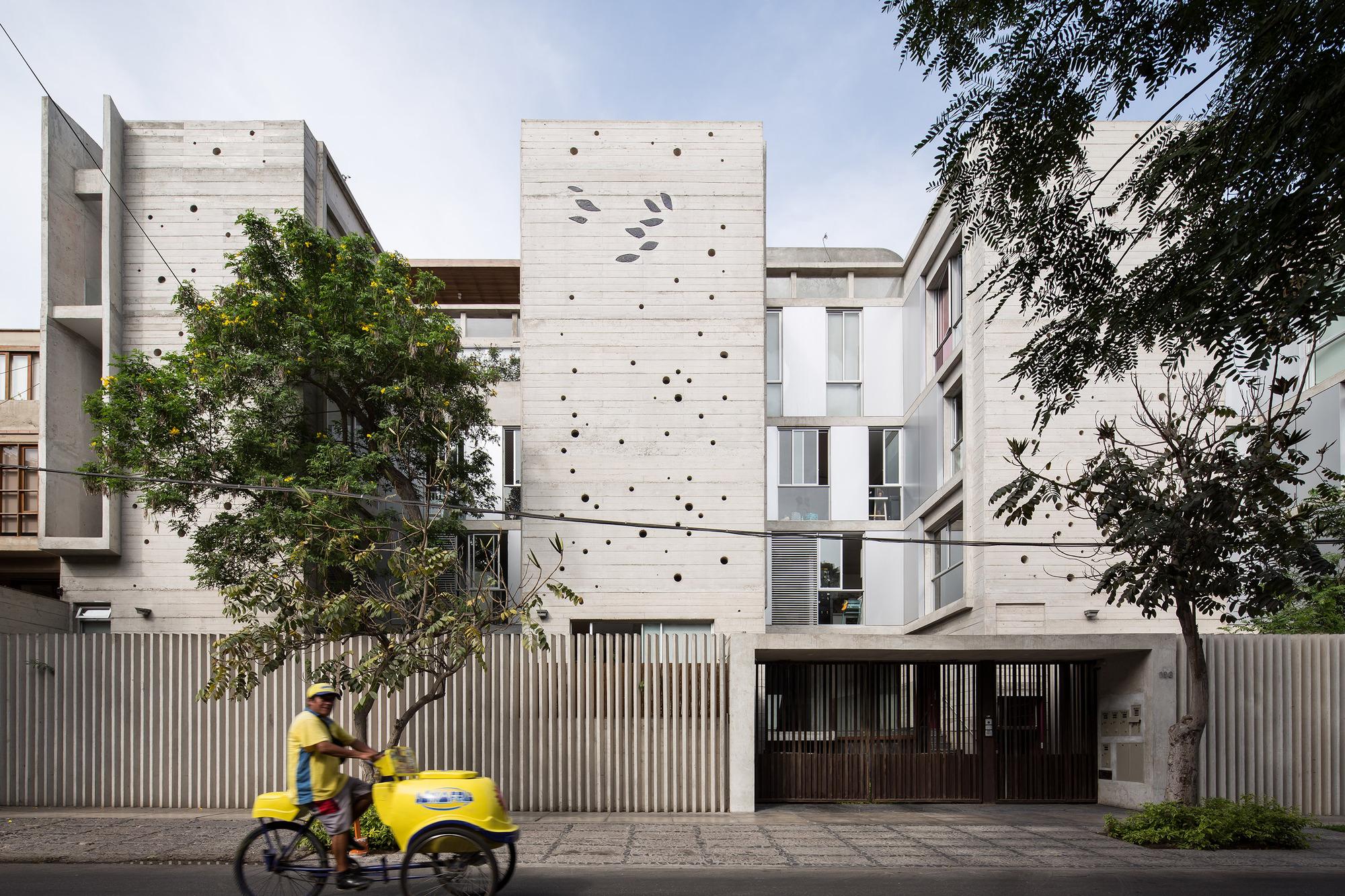 Edificio mg barclay crousse plataforma arquitectura for Arquitectura departamentos modernos
