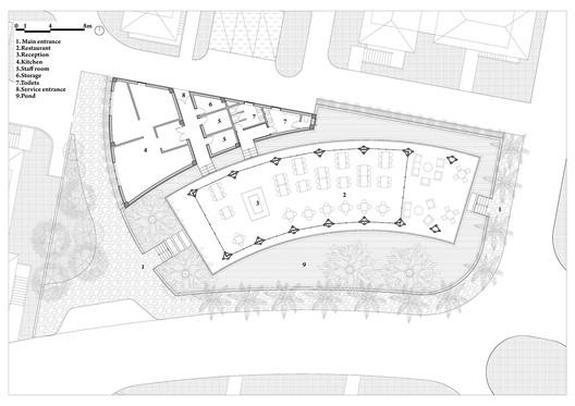 Floor Plan. Image Courtesy of VTN Architects