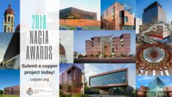 Call for Entries: 2018 North American Copper in Architecture Awards