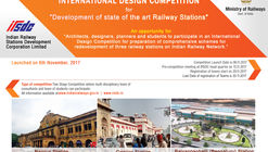 International Design Competition for Regeneration of 3 Railway Stations in India
