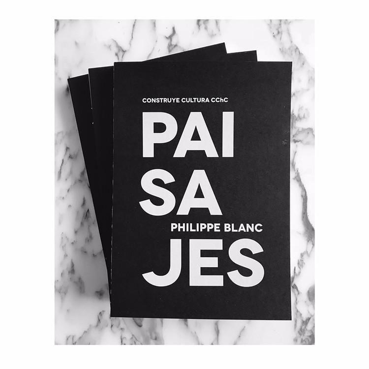 Lanzamiento Libro 'Paisajes' de Philippe Blanc