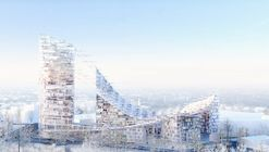 Sou Fujimoto Architects and AWAA Win Competition for Delta Tower in Brussels