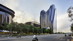Chaoyang Park Plaza / MAD Architects