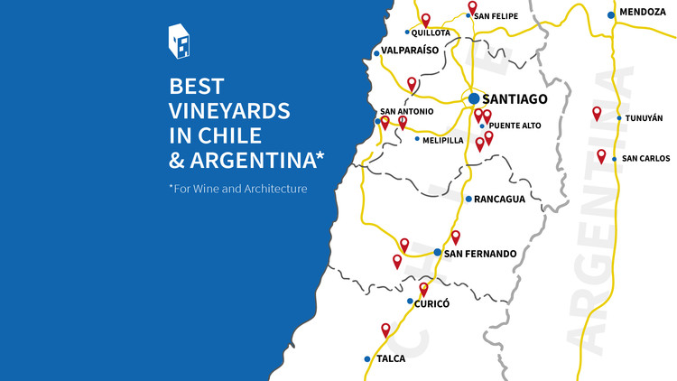 Best Vineyards in Chile & Argentina (For Wine and Architecture)