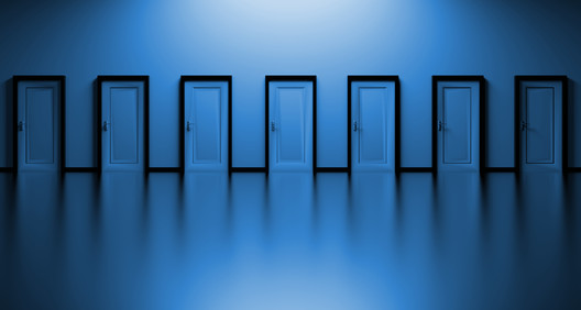 Image <a href='https://pixabay.com/en/doors-choices-choose-open-decision-1767564/'>via Pixabay user qimono</a>
