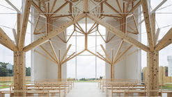 Agri Chapel / Yu Momoeda Architecture Office