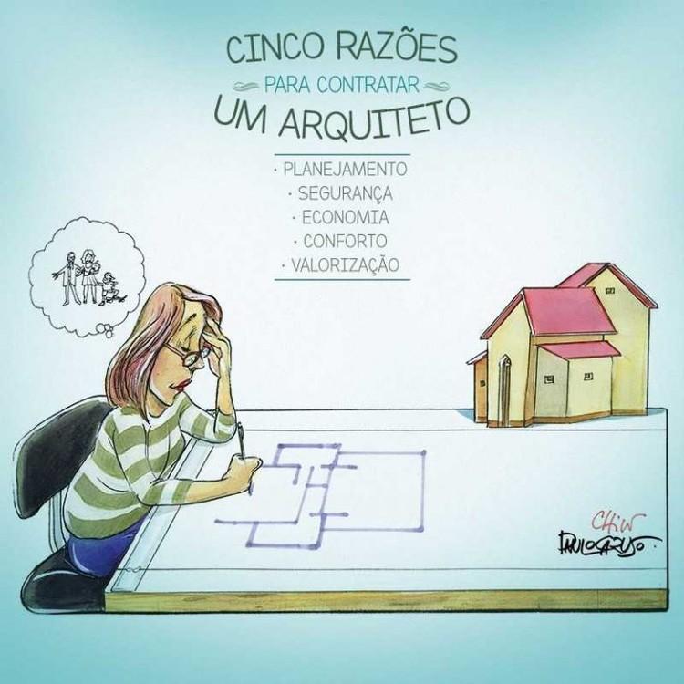 Campanha do Dia do Arquiteto do CAU será vista por 122 milhões de telespectadores, Cortesia de CAU/BR