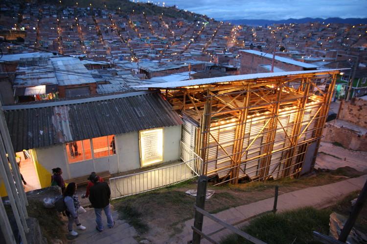La Potocine: la primera sala de cine comunitario en Ciudad Bolívar, Bogotá, Cortesía de Arquitectura Expandida