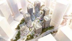 MVRDV Unveils Pixelated Mixed-Use Community Around BIG-Designed Plaza in Abu Dhabi