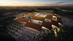 BIG Reveals Plans for Massive Rodeo and Entertainment District in Austin, Texas