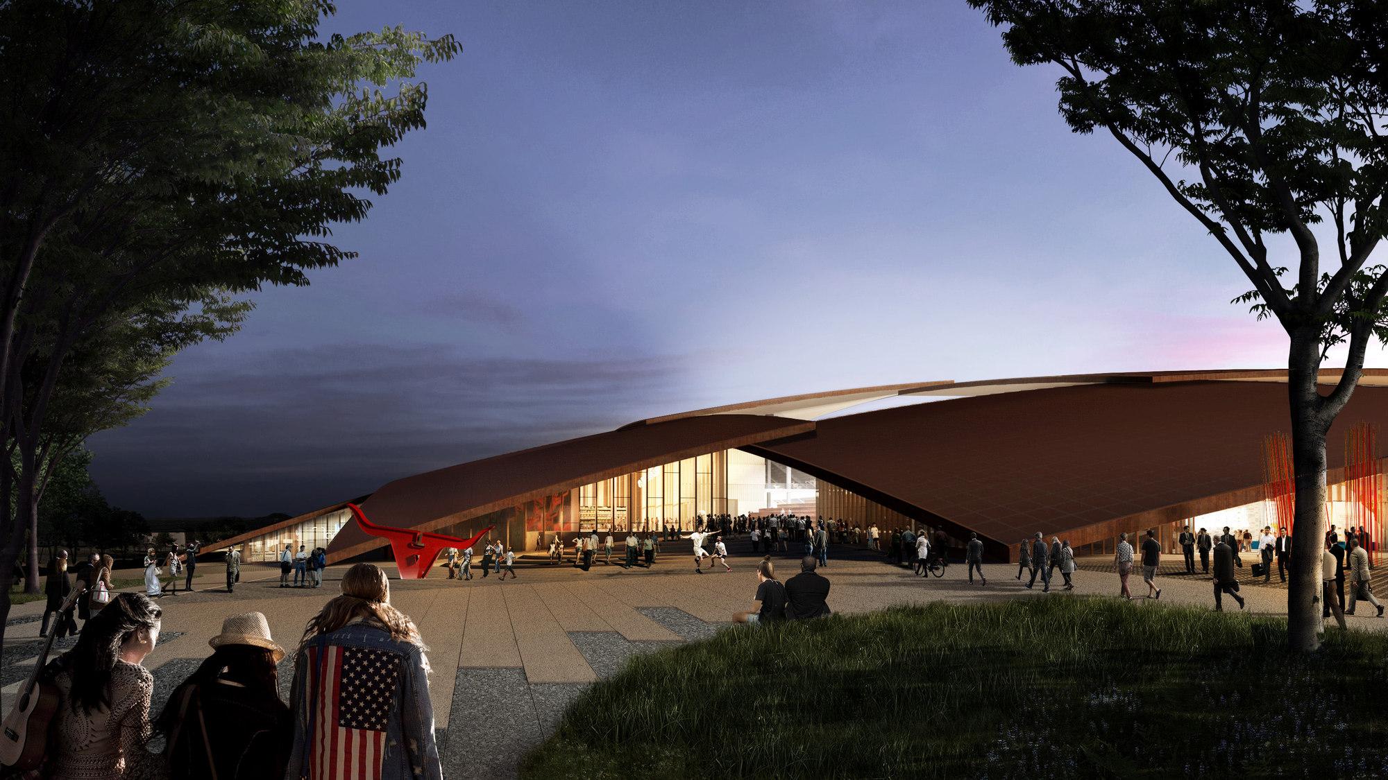 Galeria De Big Divulga Projeto Para Distrito De Esportes E