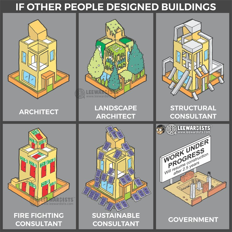What Would Happen if Other People Designed Buildings