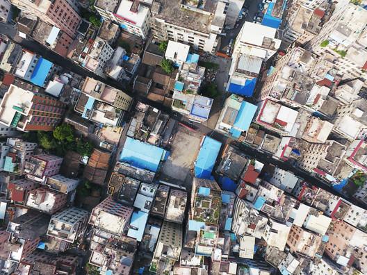 UABB2017_Aerial View of Nantou Old Town. Image Courtesy of UABB2017