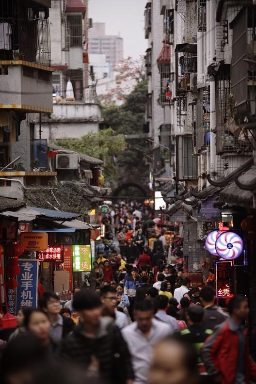 UABB2017_Main Exhibition Nantou Old Town- Street (Day). Image Courtesy of UABB2017