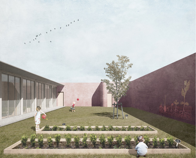Competition Winning Scheme Weaves Kindergarten and Nature Together, Courtesy of AUT