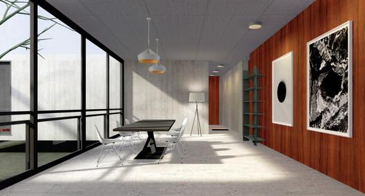 Dining room. Image Courtesy of Archilogic
