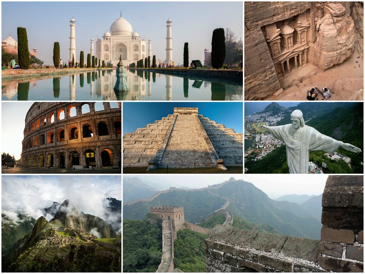 the new york times takes us to the new 7 wonders of the world with