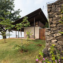 The House With The Gabion Spasm Design Archdaily