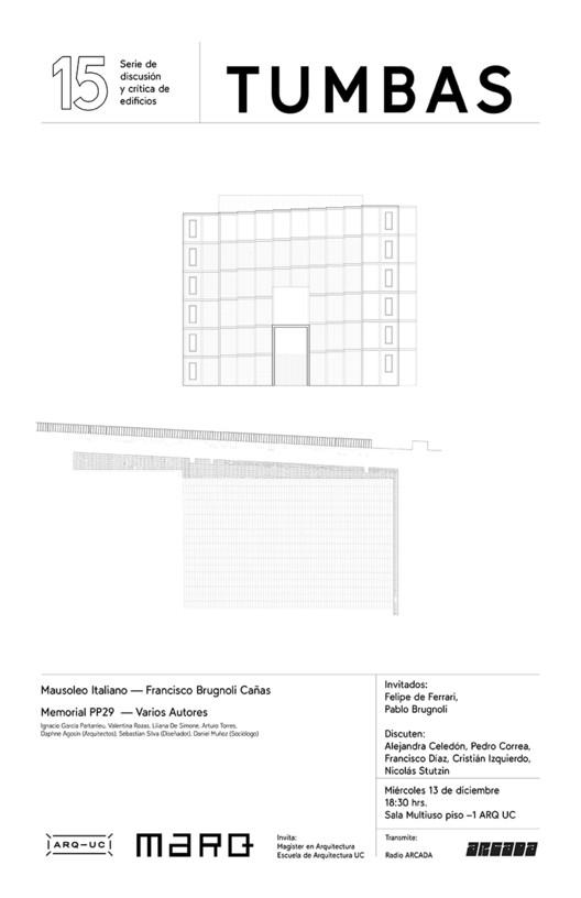 15 TUMBAS | Serie Discusión y Crítica de Edificios, Juan Guzman