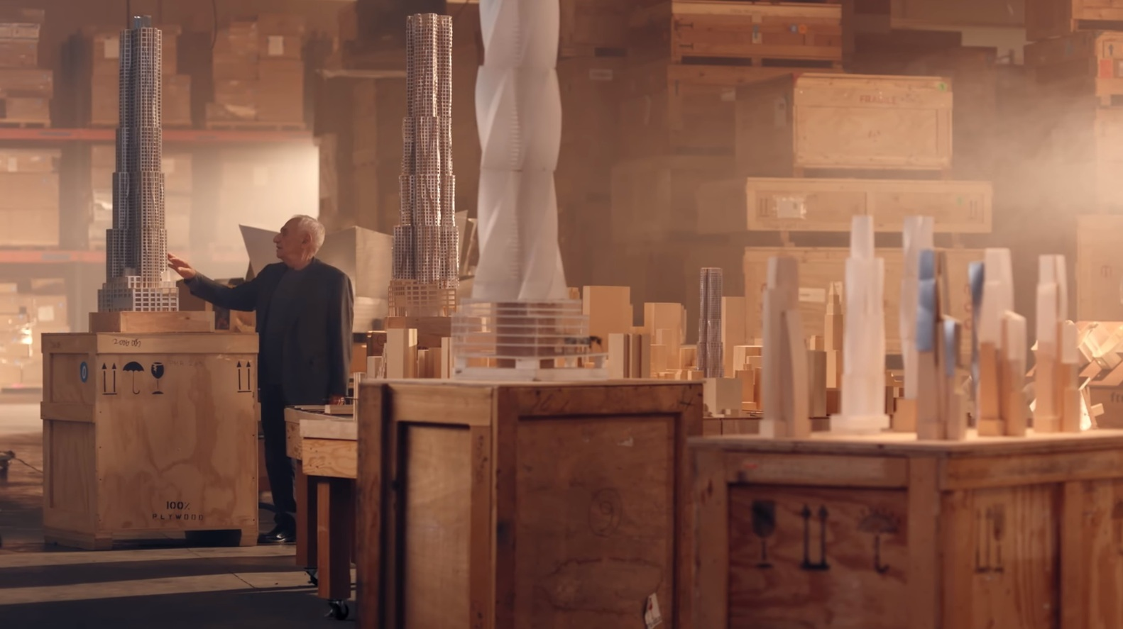 Frank Gehry Masterclass Review- course classes