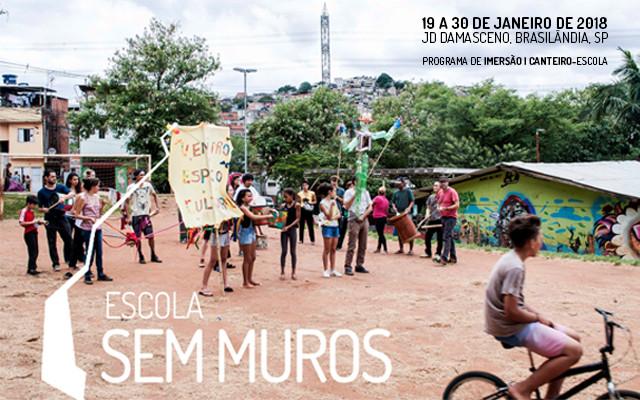 Escola Sem Muros 2018 Jd. Damasceno - Chamada para participantes, Foto: Pepe Guimarães