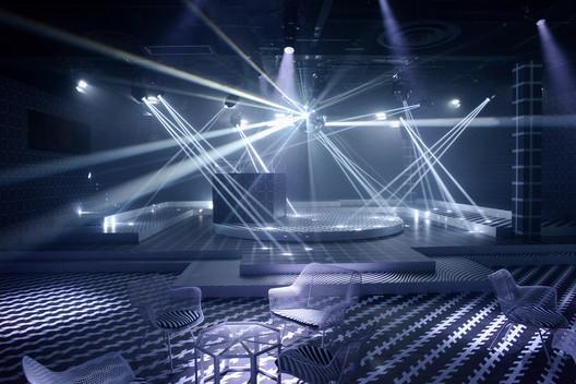 The Prada Double Club Miami / (c) Casey Kelbaugh. Image Courtesy of Fondazione Prada