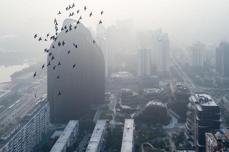 Chaoyang Park Plaza do MAD pelas lentes de Iwan Baan, © Iwan Baan