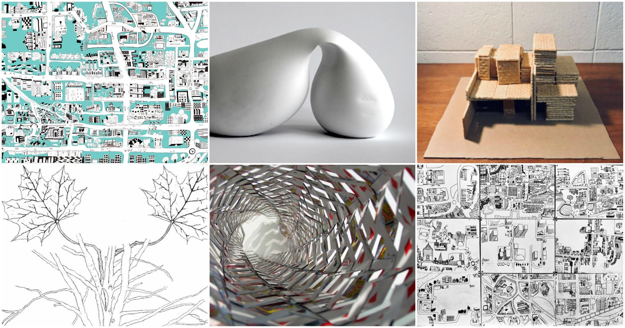 A Glimpse Into The Weird World Of Architecture Studentsu0027 First Assignments,  Via Aric Gitomer