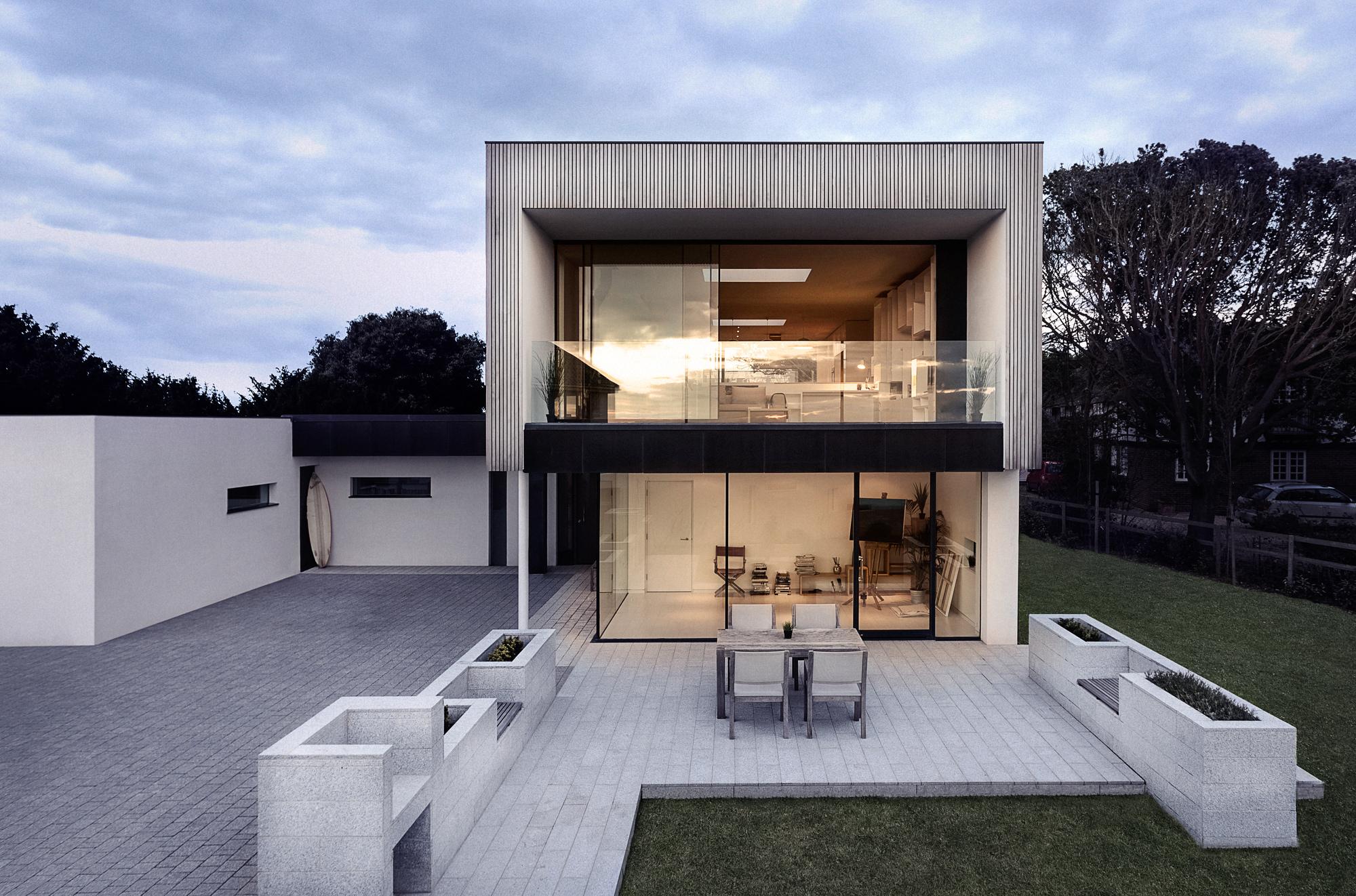 Zinc House OB Architecture