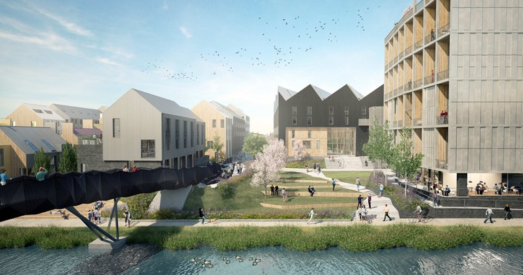 White Arkitekter and Citu Release First Images of Climate Innovation District in Leeds, Courtesy of Citu