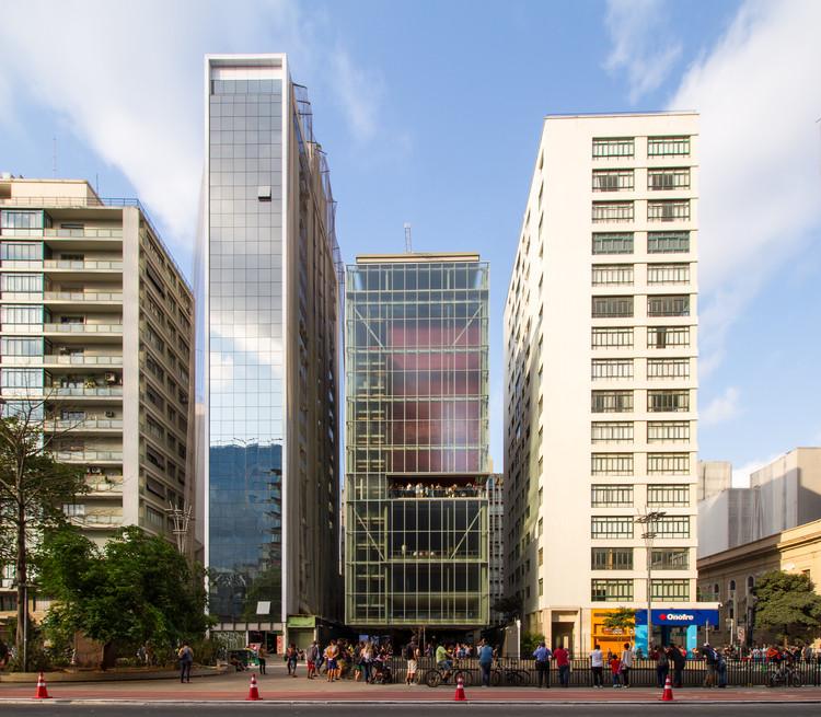 APCA anuncia lista de vencedores na categoria Arquitetura e Urbanismo, Obra de arquitetura em São Paulo: Instituto Moreira Salles / Andrade Morettin Arquitetos. Image © FLAGRANTE