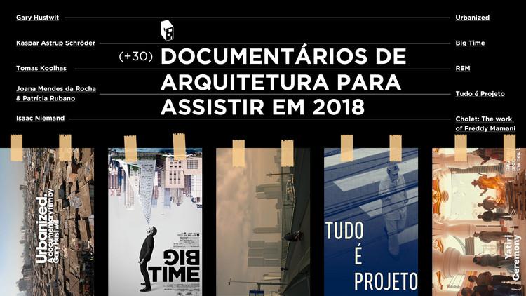 Documentários de Arquitetura para assistir em 2018