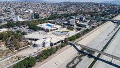 Conoce los avances de construcción de la Plaza Cívica Central en Tijuana