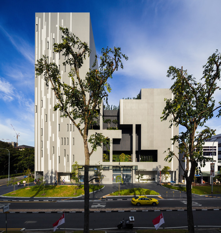Teatro Gateway / ONG&ONG Pte Ltd, Cortesía de ONG&ONG Pte Ltd