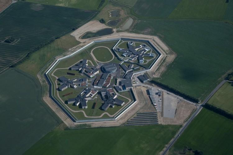 Storstrøm Prison / C.F. Møller, © Torben Eskerod