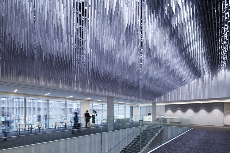 YKK80 Building; Tokyo, Japan / Nikken Sekkei © Forward Stroke