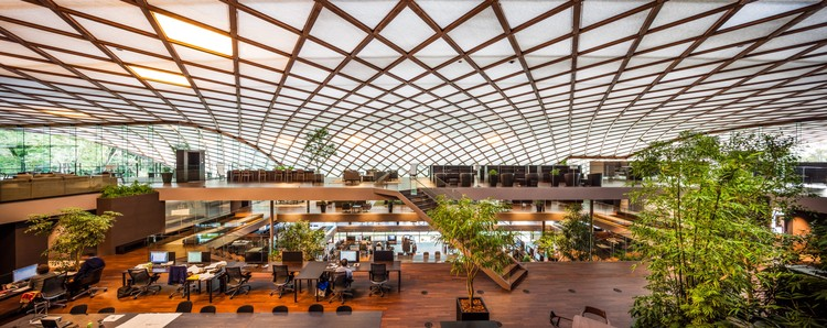 ROGIC ROKI Global Innovation Centre; Hamamatsu, Shizuoka, Japan / Tetsuo Kobori Architects © Takahiro Arai