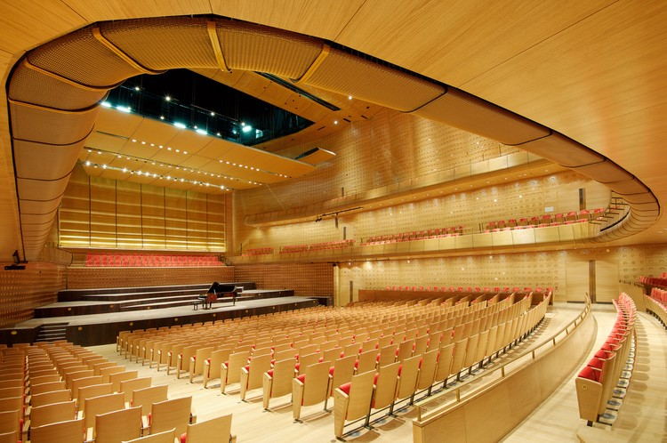 Queen Elisabeth Hall; Antwerp, Belgium / SimpsonHaugh with Bureau Bouwtechniek © Karen Fuchs