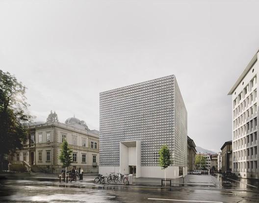 Buendner Kunstmuseum Chur; Chur, Switzerland / Barozzi Veiga © Simon Menges