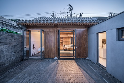 Baitasi House of the Future; Beijing, China / Dot Architects © Qingshan Wu