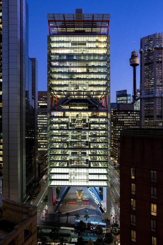 8 Chifley Square;  Sydney, Australia / Rogers Stirk Harbour + Partners with Lippmann Partnership, Arup (Australia) © Brett Boardman