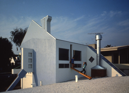 708 House / Eric Owen Moss. Image © The estate of Marvin Rand