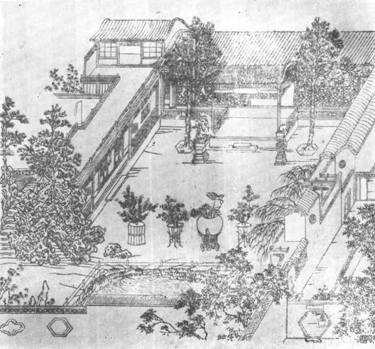 Jiangnan Garden Print